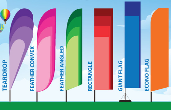 Flag Feather Banners Marel Media
