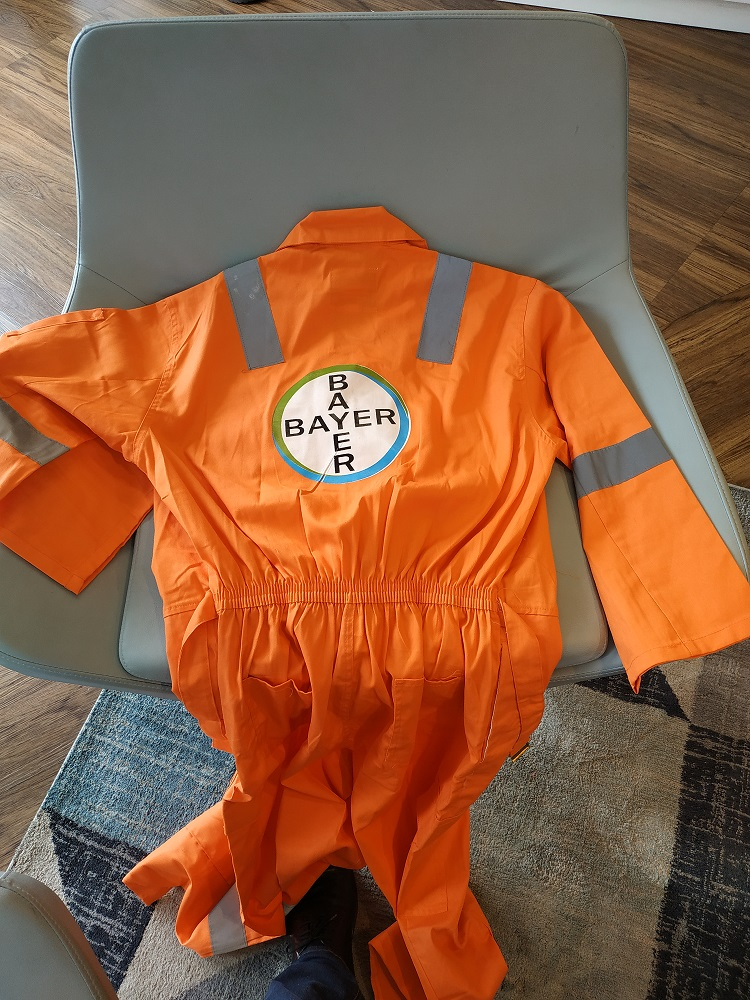 Customized coverall suppliers