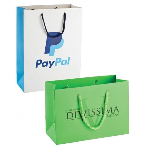 promotional printed shopping bags