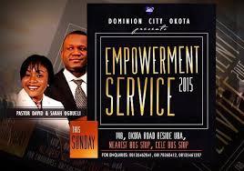 Dominion City Church  flyers