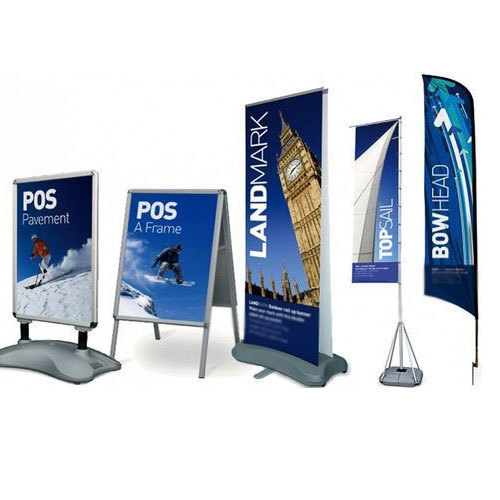 dealers on signs and display stands in Nigeria