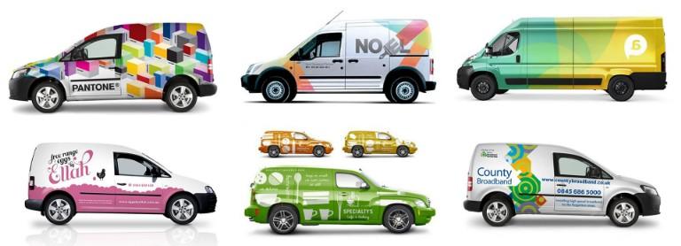 vehicle branding -display