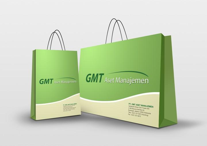 Branded carrier bag printing
