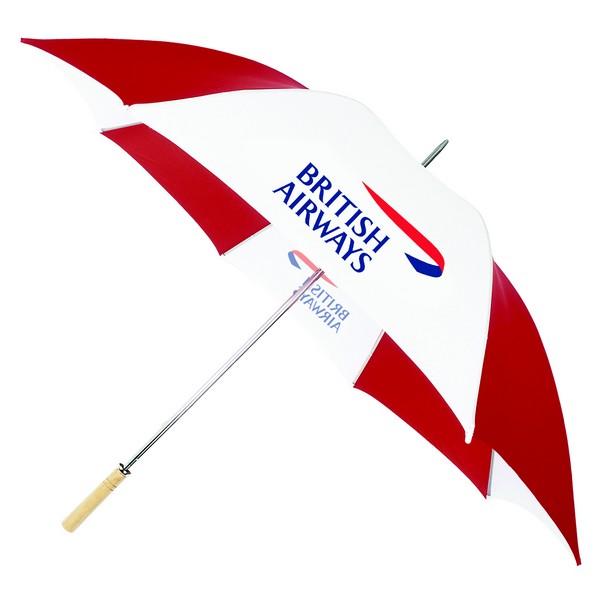 Promotional umbrella printing and branding