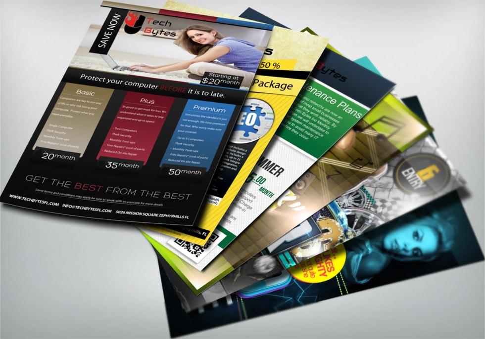 flyers and handbills printing company